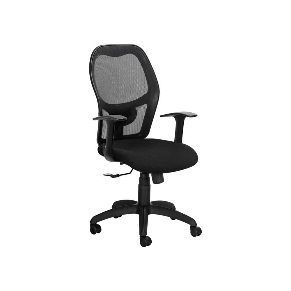 Align Studio 9 to 5 Operators Chair With Fixed Arms- Grey