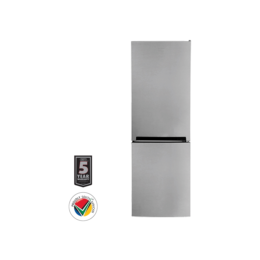 Defy 250L Eco Bottom Freezer Fridge Metallic - DAC473