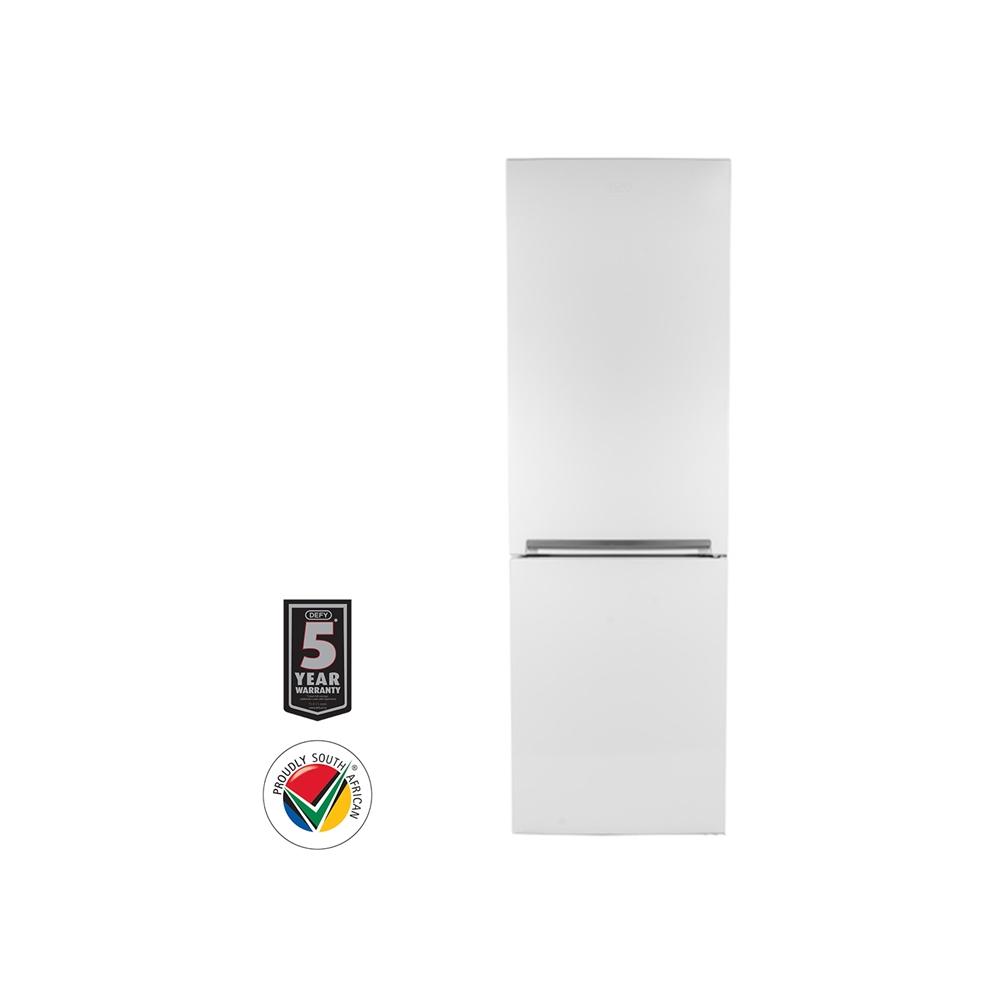Defy 350L Eco Bottom Freezer Fridge - White
