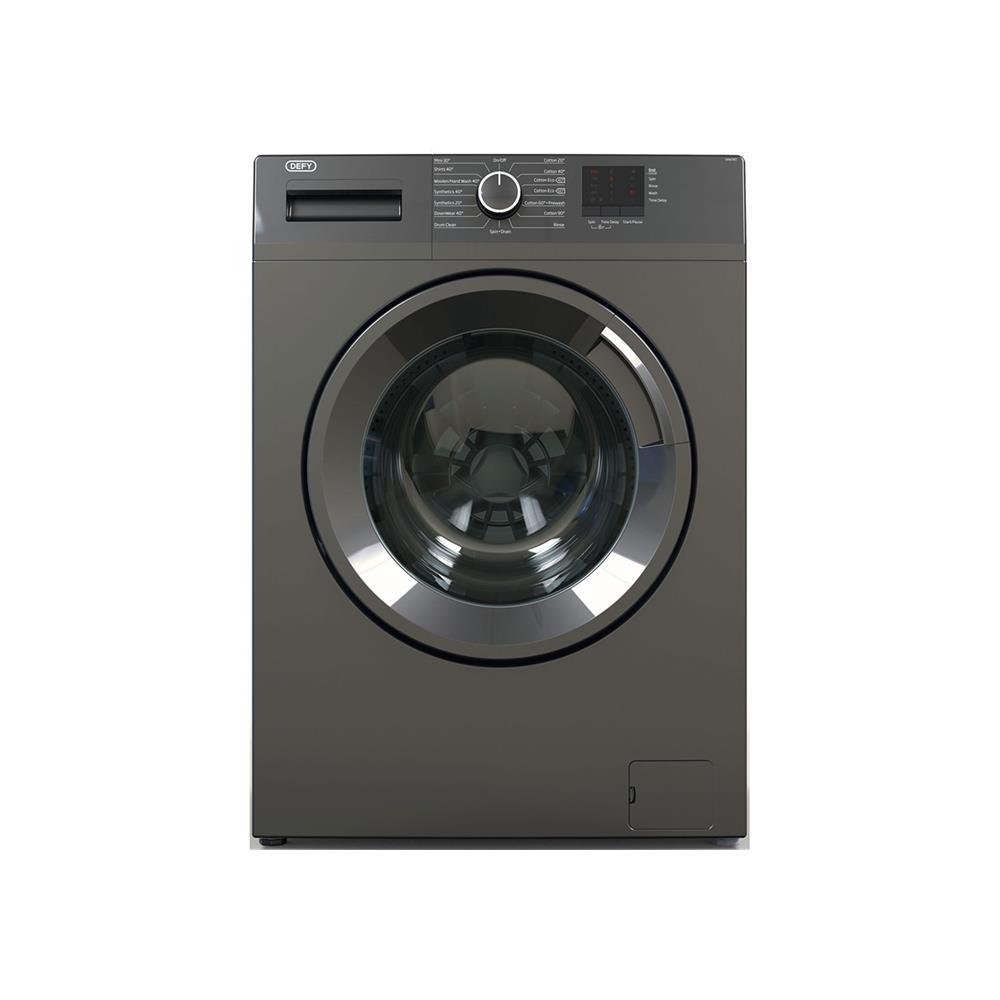 Defy 6kg Front Loader Washing Machine - Grey