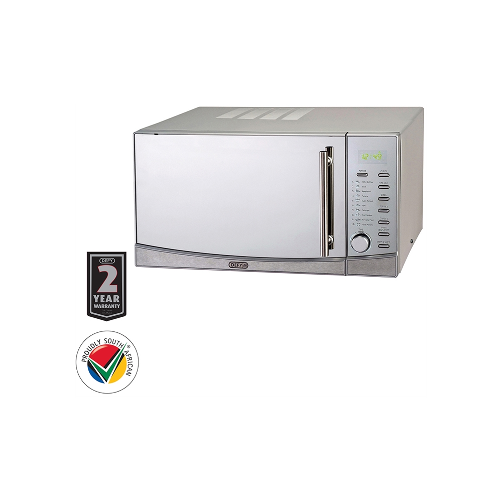 Defy 34L Grill Microwave Oven - Stainless Steel