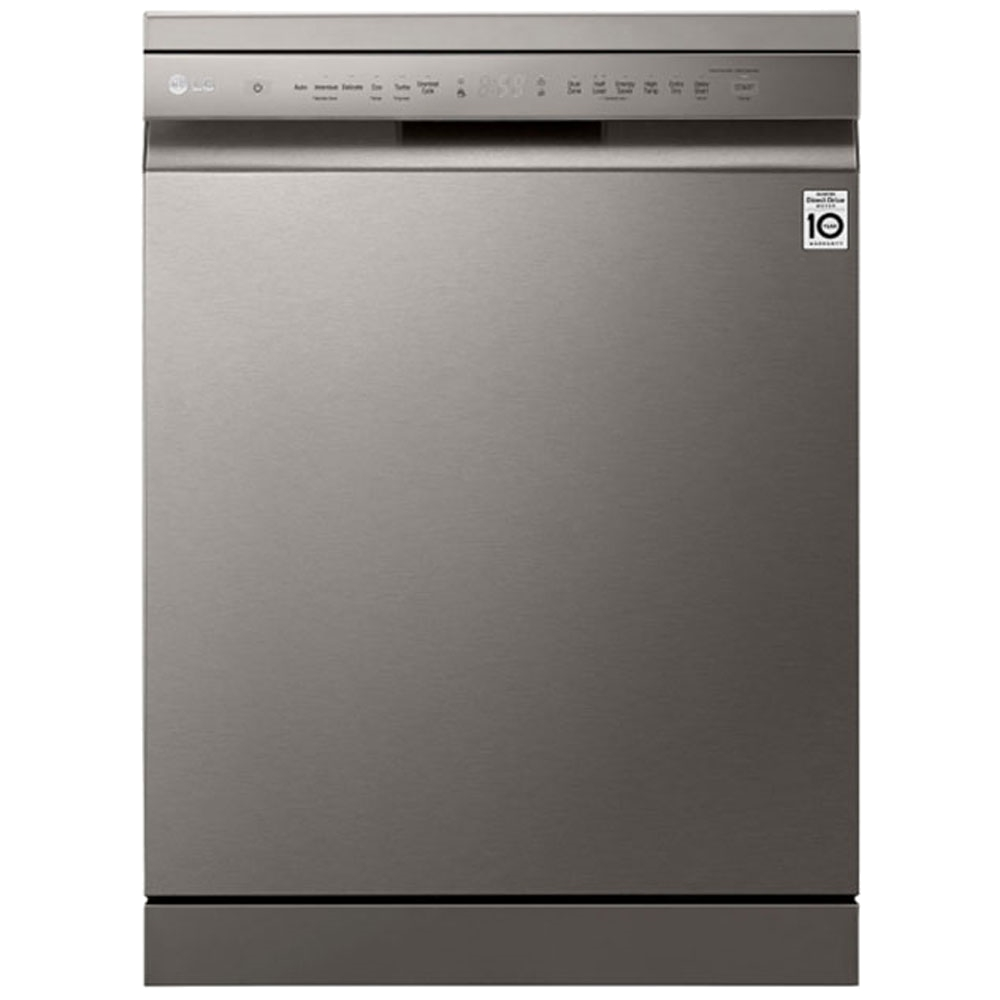 LG 14Pl QuadWash Dishwasher Platinum Silver - DFB512FP