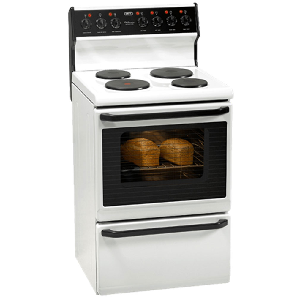 DEFY 4 Plate Kitchenaire Electric Stove White - DSS493