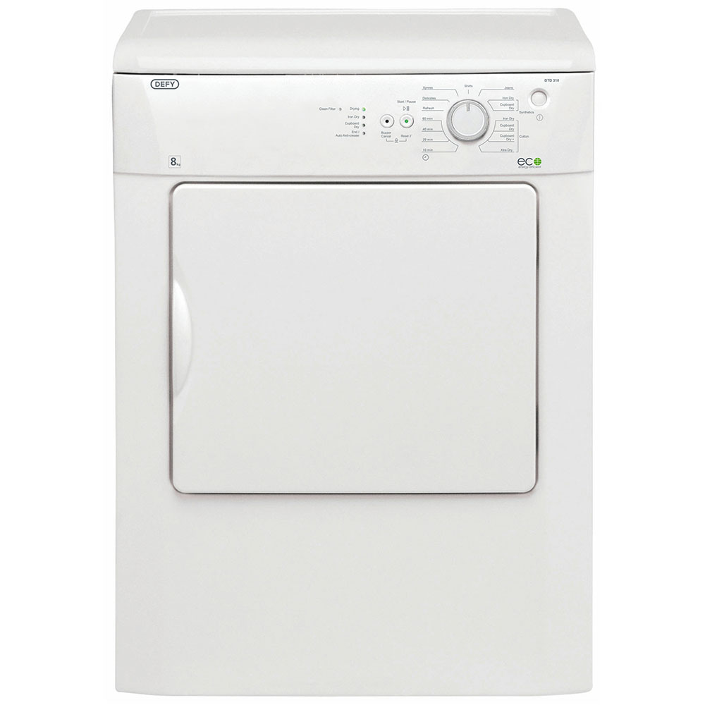Defy 8kg Air Vented Dryer - DTD310