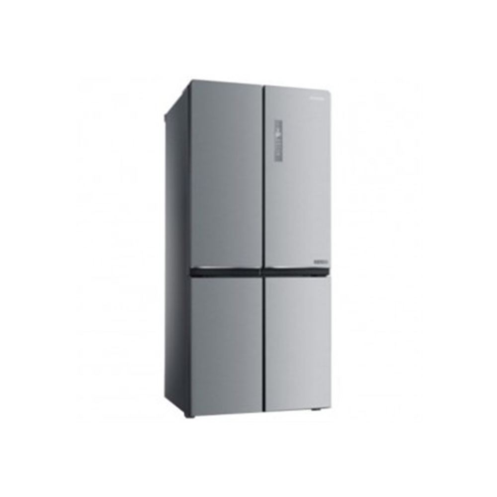 Midea 622L Side by Side Refrigerator - Stainless Steel
