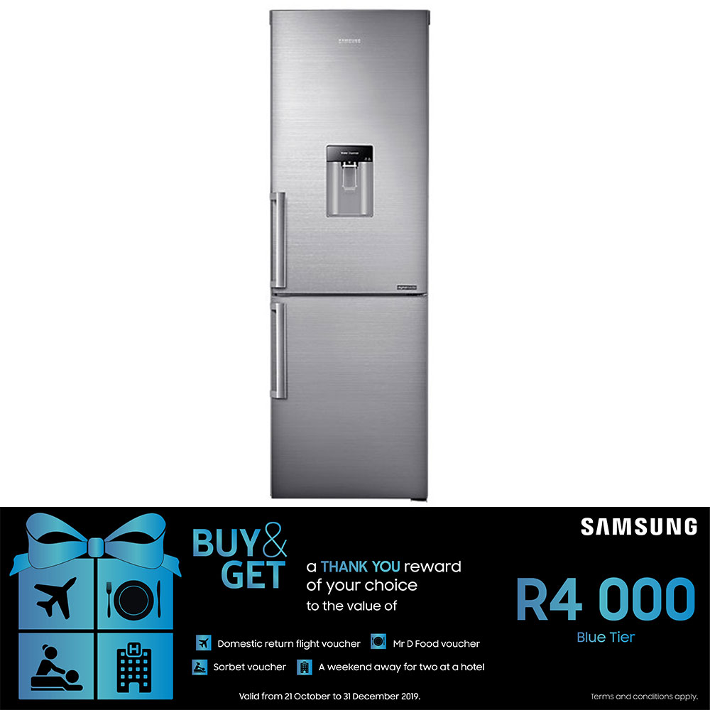 Samsung 321L Bottom Freezer Fridge - RB31HWJ3DSS