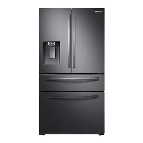 Samsung 510L French Door Fridge With Water & Ice Dispenser - Black