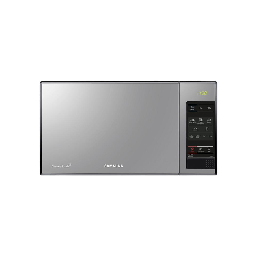 Samsung 23L 800 Watt Microwave - Black Frame with Mirror Door