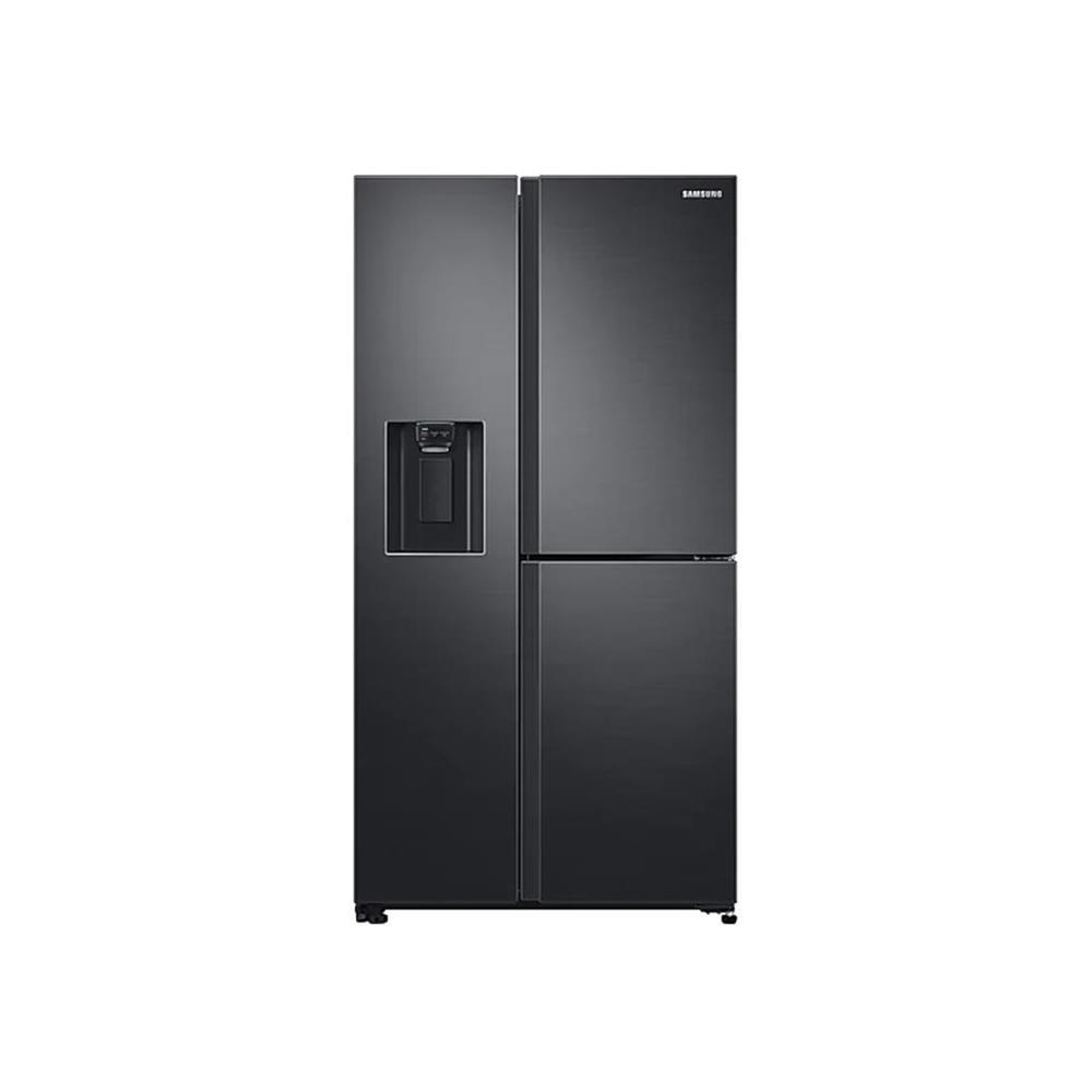 Samsung 602L 3 Door Fridge/Freezer with Water Dispenser - Black