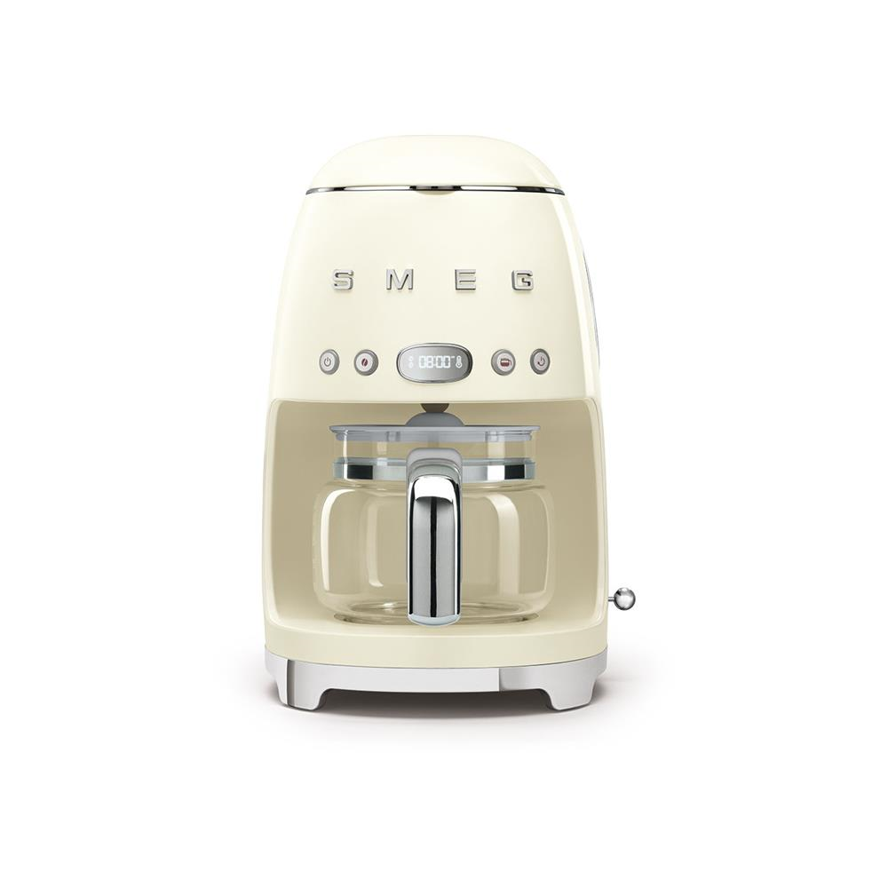 Smeg 50's Style Retro Drip Filter Coffee Machine - Glossy Cream
